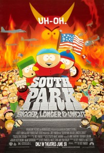 south park poster